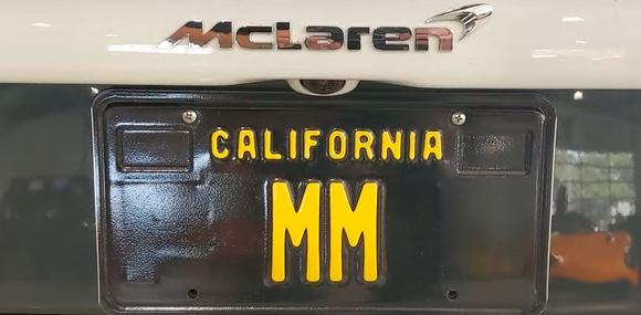 Калифорнийский номер «MM» продают за 24,5 миллиона долларов