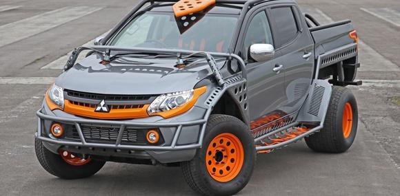Mitsubishi построила особый L200 для шоу «Форсаж»