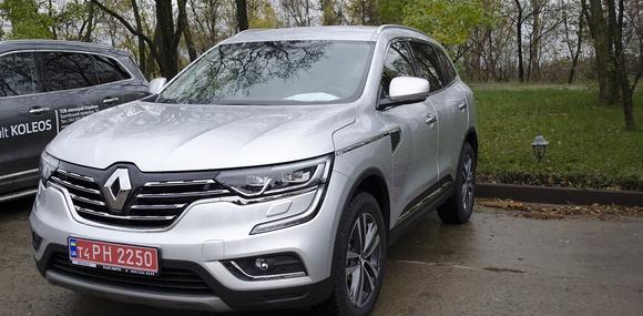 Новый Renault Koleos — первое знакомство