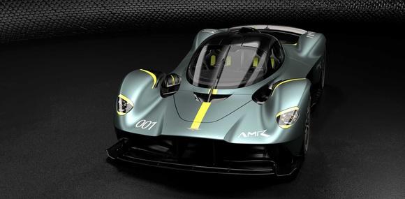 Гиперкар Aston Martin Valkyrie получил сменный трековый пакет