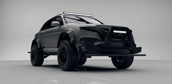 Bentley Bentayga превратили в «вездеход»