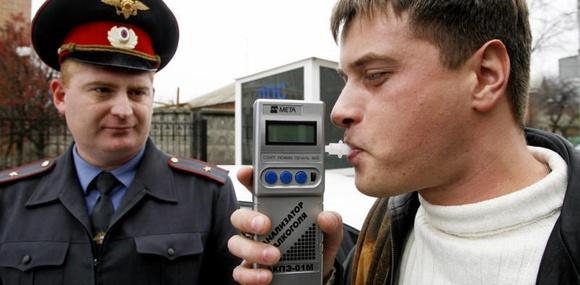 Пешеходов в России заставят дуть в «трубочку»