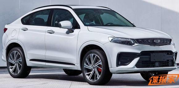 Geely выпустит новое кросс-купе в стиле BMW X4