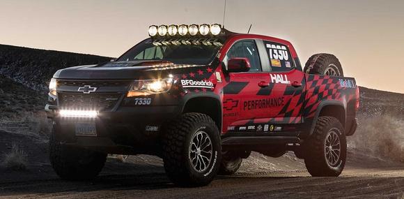 Для пикапа Chevrolet Colorado ZR2 подготовили гоночный пакет