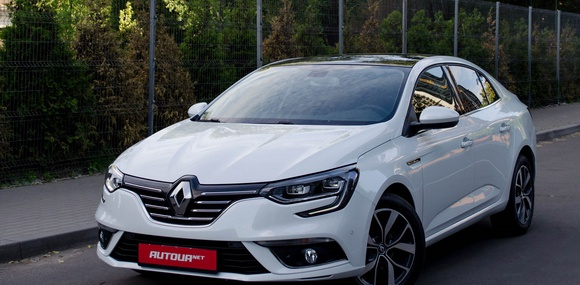 Тест-драйв дизельного Renault Megane Sedan 2017