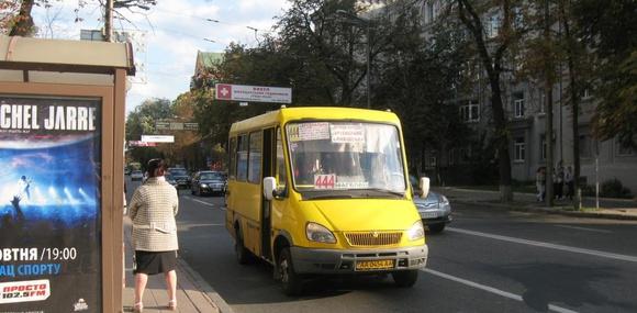 В киевских маршрутках установили алкозамки