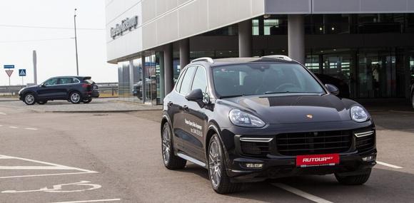 Тест-драйв обновленный Porsche Cayenne GTS: Забавная арифметика