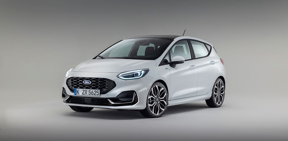 Представлен обновленный хэтч Ford Fiesta 2022