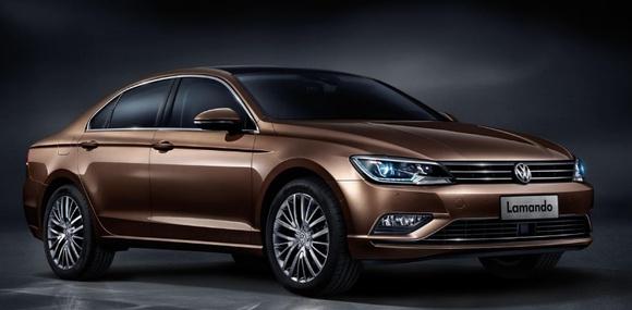 Volkswagen презентовал новый седан Lamando