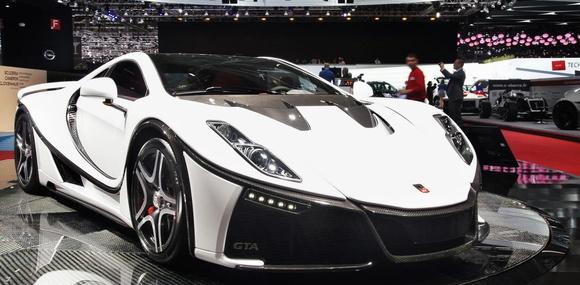 В Женеве представлен первый автомобиль с графеновым кузовом