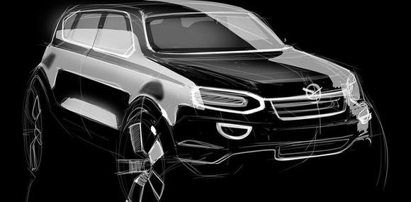 Первый кроссовер УАЗ получит турбомоторы