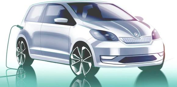 Škoda анонсировала электрический Citigo