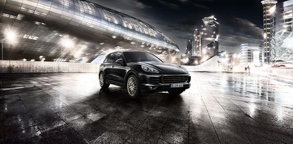 У Porsche Cayenne появилась «платиновая» серия