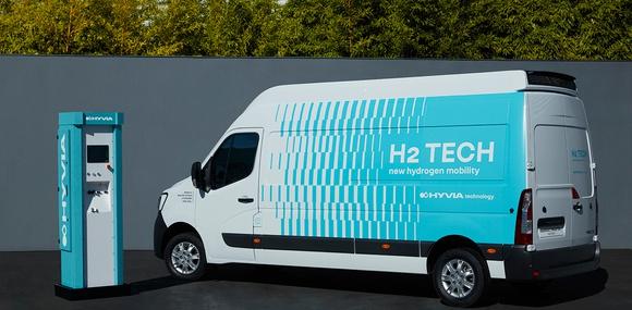 Renault показала заправочную станцию для фургона Master на водороде