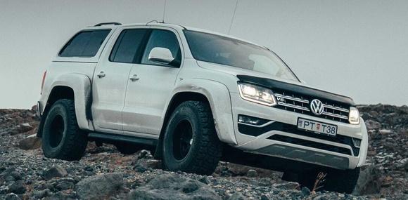 Пикап Volkswagen Amarok подготовили для езды по бездорожью