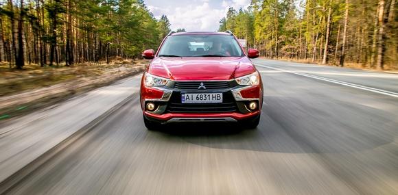 Тест-драйв Mitsubishi ASX: Новое лицо — проверенная техника!