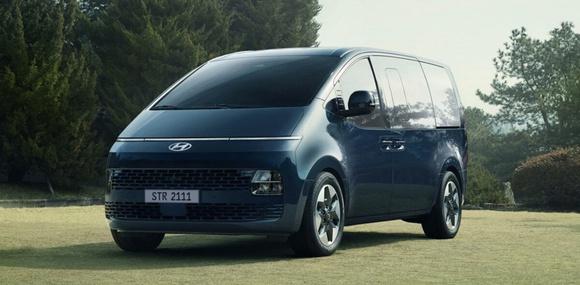 Большой вэн Hyundai Staria раскрыт во всех подробностях