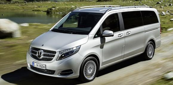 Mercedes-Benz V-Class получит полный привод