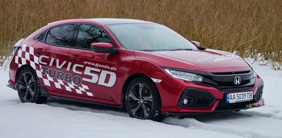 Тест-драйв Honda Civic Turbo: турбопровод