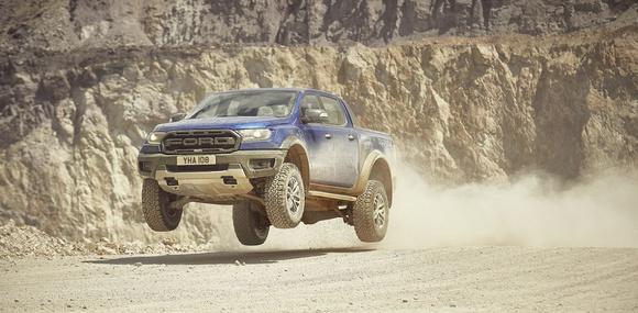 Ford представил европейскую модификацию экстремального пикапа Ranger Raptor