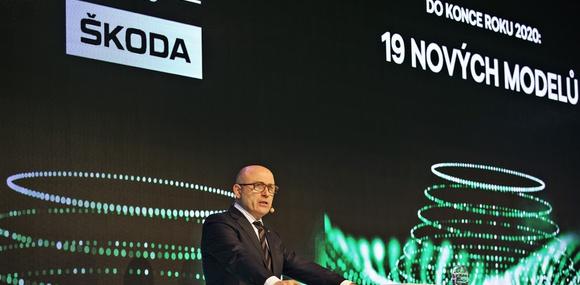 Škoda планирует выпуск 19 новых моделей