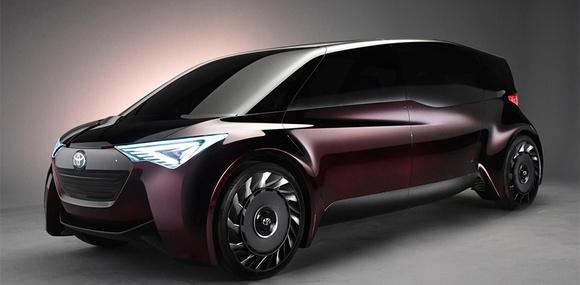 Минивэн Toyota Fine-Comfort Ride расскажет о водородных машинах будущего