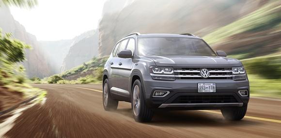 Volkswagen разрабатывает новые версии вcедорожника Atlas