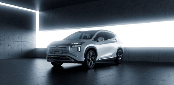 Mitsubishi представила на картинках новый электромобиль Airtrek