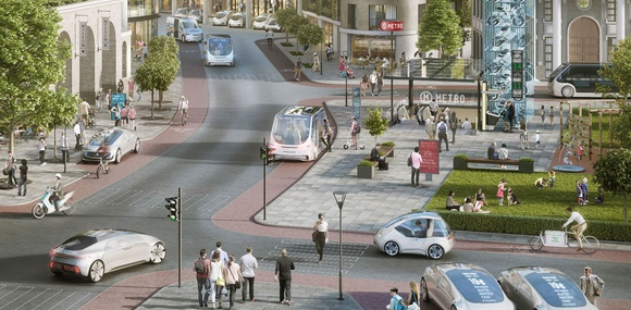 Daimler и Bosch запустят роботакси на базе Nvidia Drive Pegasus