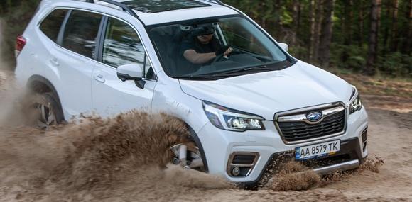 Первый украинский тест Subaru Forester: «лесник» в пятом колене