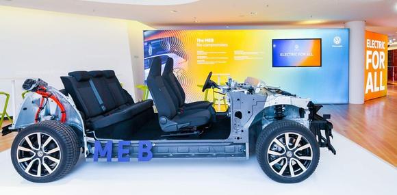 Volkswagen рассказал подробности о серийном варианте платформы MEB