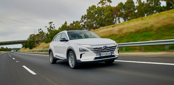 Водородный Hyundai Nexo обновил рекорд дальности пробега