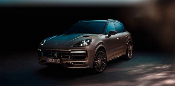 TechArt и Rolf Benz преобразили новый Porsche Cayenne