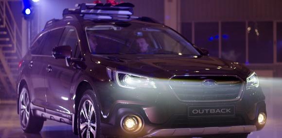 В Украину привезли обновлённый Subaru Outback 2018