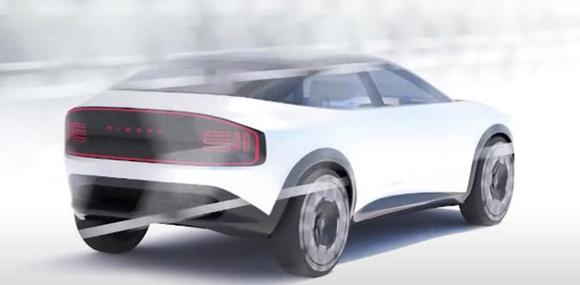 Хэтч Nissan Leaf в третьем поколении станет кроссовером