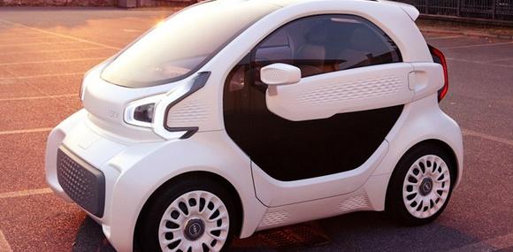 Китайцы начнут продавать электромобиль напечатанный на 3D-принтере