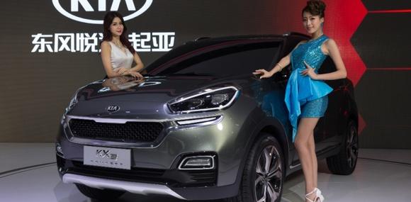 В Гуанчжоу состоялась мировая премьера концепт-кара KIA KX3!