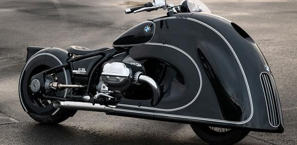 Кастом-проект на базе круизера R18 снабдили «ноздрями» в духе автомобилей BMW