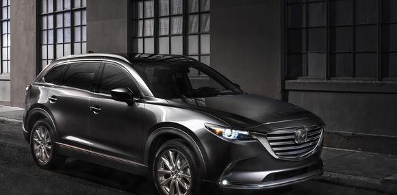 Второе поколение Mazda CX-9 появится в Украине