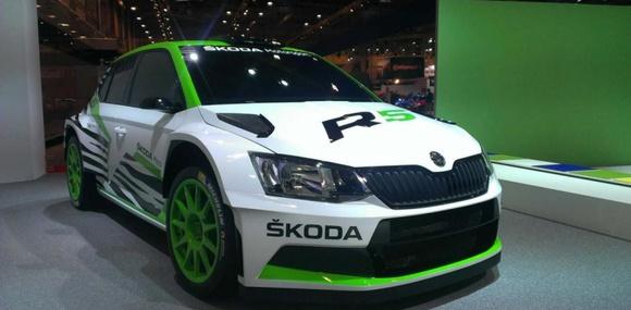 Škoda представила раллийную версию новой Fabia