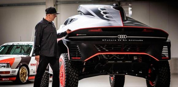 Кен Блок подписал контракт с Audi