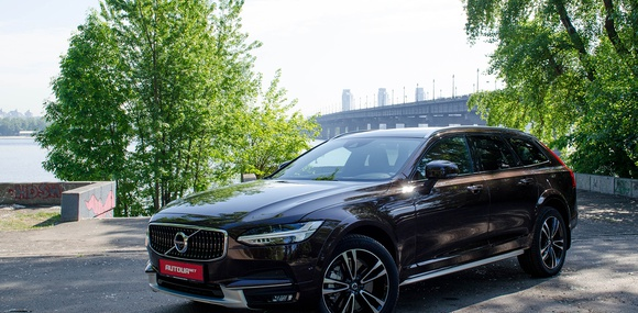 Тест-драйв Volvo V90 Cross Country: шведский All inclusive