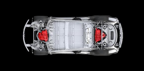 Tesla зарегистрировала двухмоторный седан Model 3
