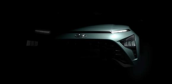 Европейский кроссовер Hyundai Bayon показался на новых тизерах