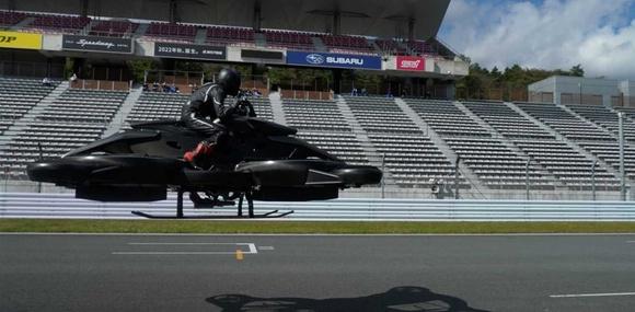 В продажу поступил первый в мире летающий мотоцикл