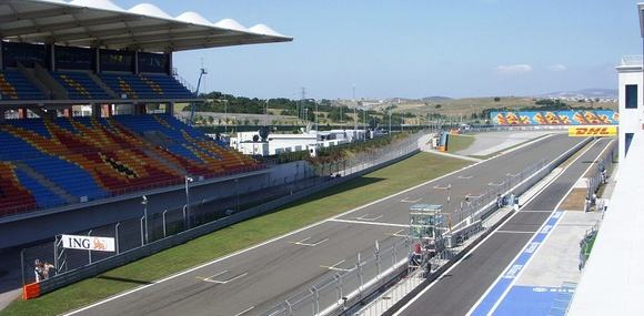Из трассы Формулы-1 в Турции сделали авторынок