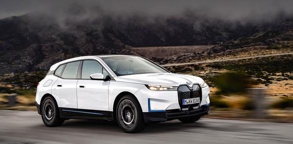 Цены на BMW iX в Украине оказались ниже, чем в Германии