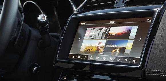 BlackBerry разработает для Jaguar Land Rover новую мультимедийную систему
