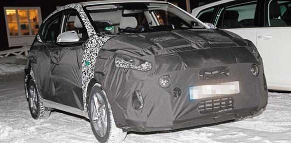 Хэтчбек Hyundai i10 нового поколения вывели на тесты