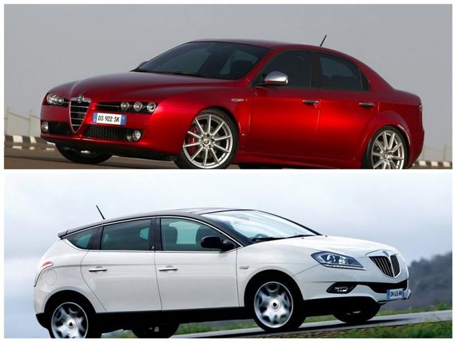 Alfa Romeo 159 & Lancia Delta